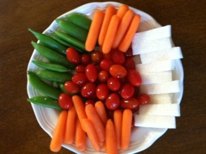 Low Glycemic Vegetable Snack