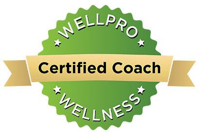WellPRO-certified coach badge