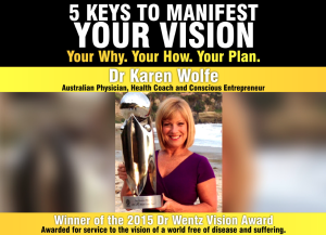 Five Keys to Manifest Your Vision with Dr Karen Wolfe