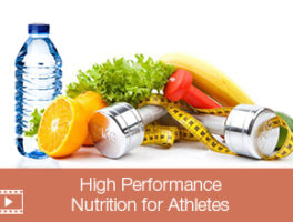 High Performance Nutrition For Athletes