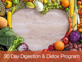 30 Day Digestion & Detox Program