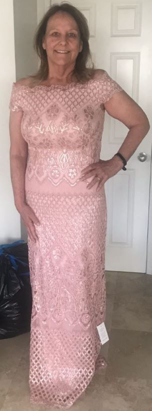 Marie lost 23 inches, 25 pounds and 4 dress sizes in 3 months!